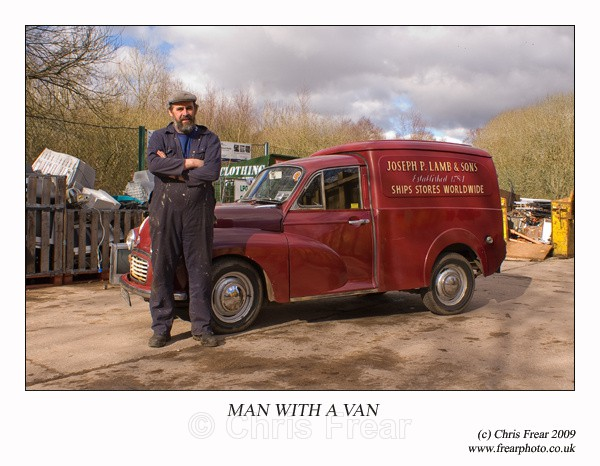 Man With a Van - People Portraits