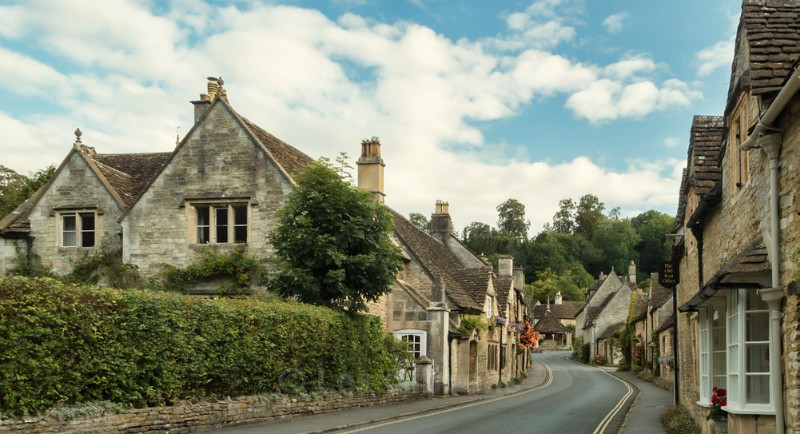 Castle Coombe - Wiltshire