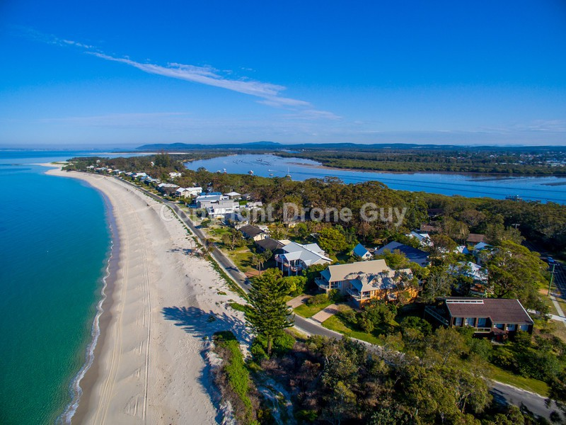 Hawks Nest Australia  city images : Nest Jimmys Beach NSW Australia Aerial Photos Tea Gardens Hawks Nest ...