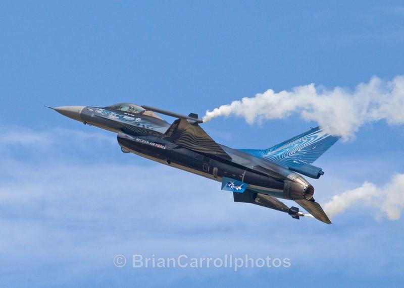 General Dynamics/Lockheed Martin F-16 Belgium Air Force - RAF Fairford RIAT 2009 - 2014 Airshows