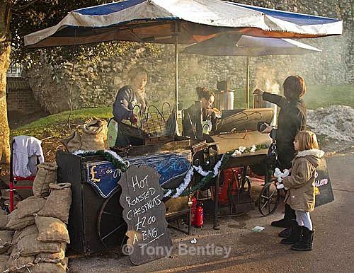Chestnut Seller, Rochester Castle Xmas Fair - Miscellaneous