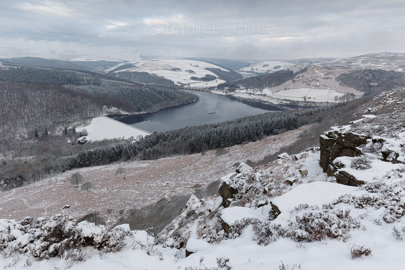 Bamford Edge Snow | Peak District Winter Photography
