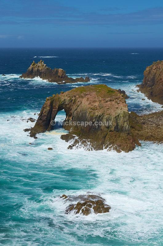 Enys Dodnan Rocks - Lands End, Cornwall, UK - Cornwall