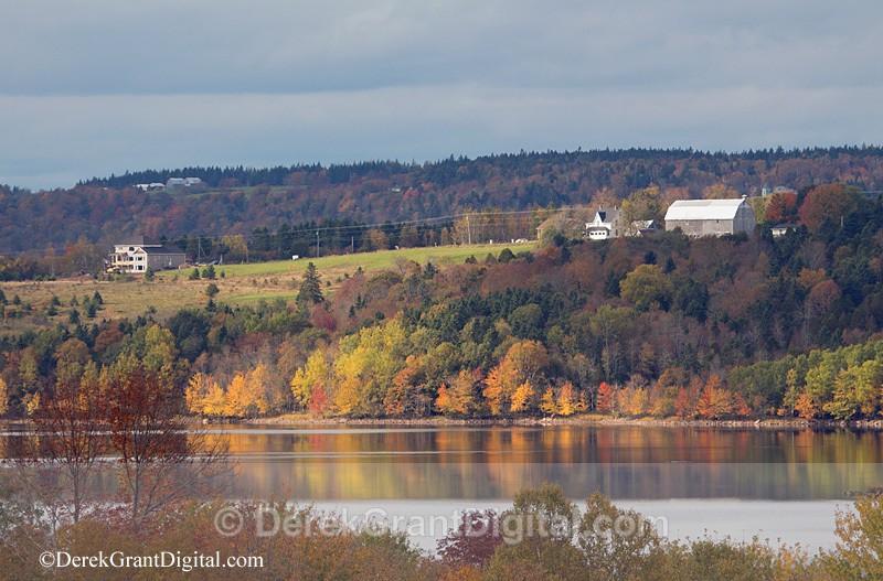 Darlings Island New Brunswick Autumn Foliage - New Brunswick Landscape