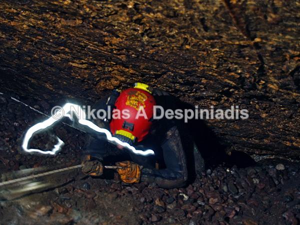 Στένωμα Ι Narrow pass - Σπήλαια I Caves