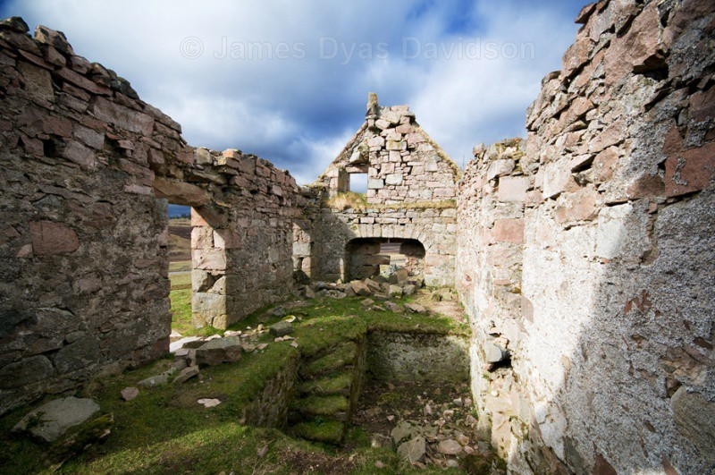 Ruins at Tullochmacarrick - Glen Gairn