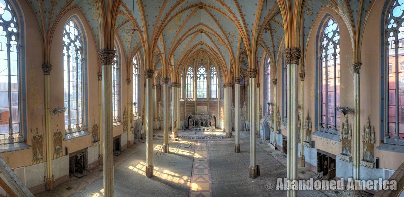 St. Boniface Cathedral, Philadelphia PA - Photographs by Matthew Christopher's Abandoned America