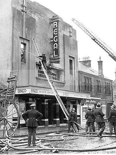 Fire Regal Cinema Larkhall - Archive.