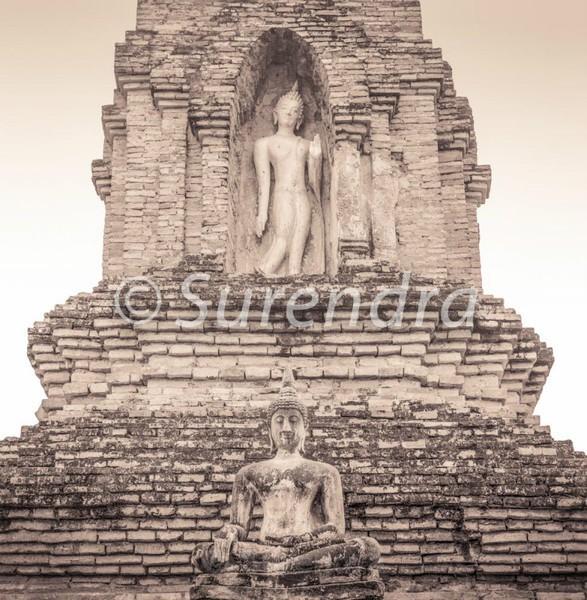 Wat Mahathat # 7 - Sukhothai  スクタイ
