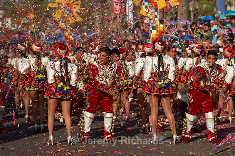 Caporales dance group - Carnaval Andino Con La Fuerza Del Sol - Arica