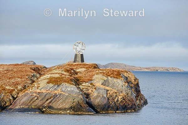 Arctic Circle marker - Norway Coast