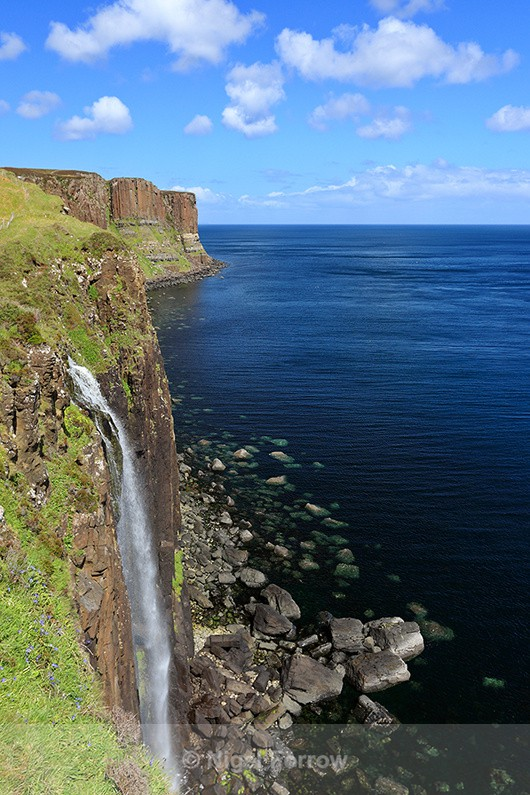 Waterfall near Kilt Rock, Isle of Skye - Scotland