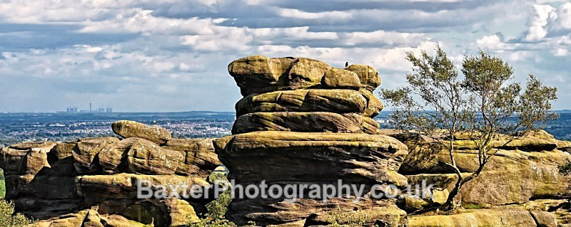 Sentinels - Brimham Rocks and  Bolton Abbey