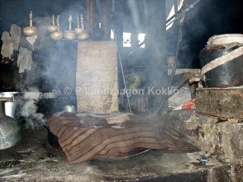 Monastery Kitchen Tibet - Travel