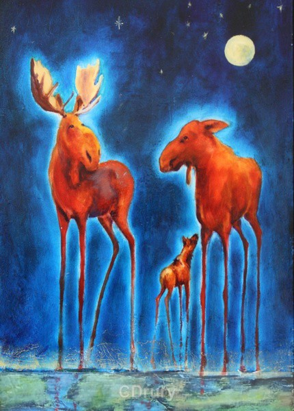 By the Light of the Silvery Moon - AVAILABLE PRINTS