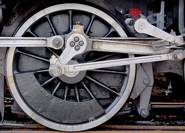 Steam Wheel; - David Pettigrew D.A.