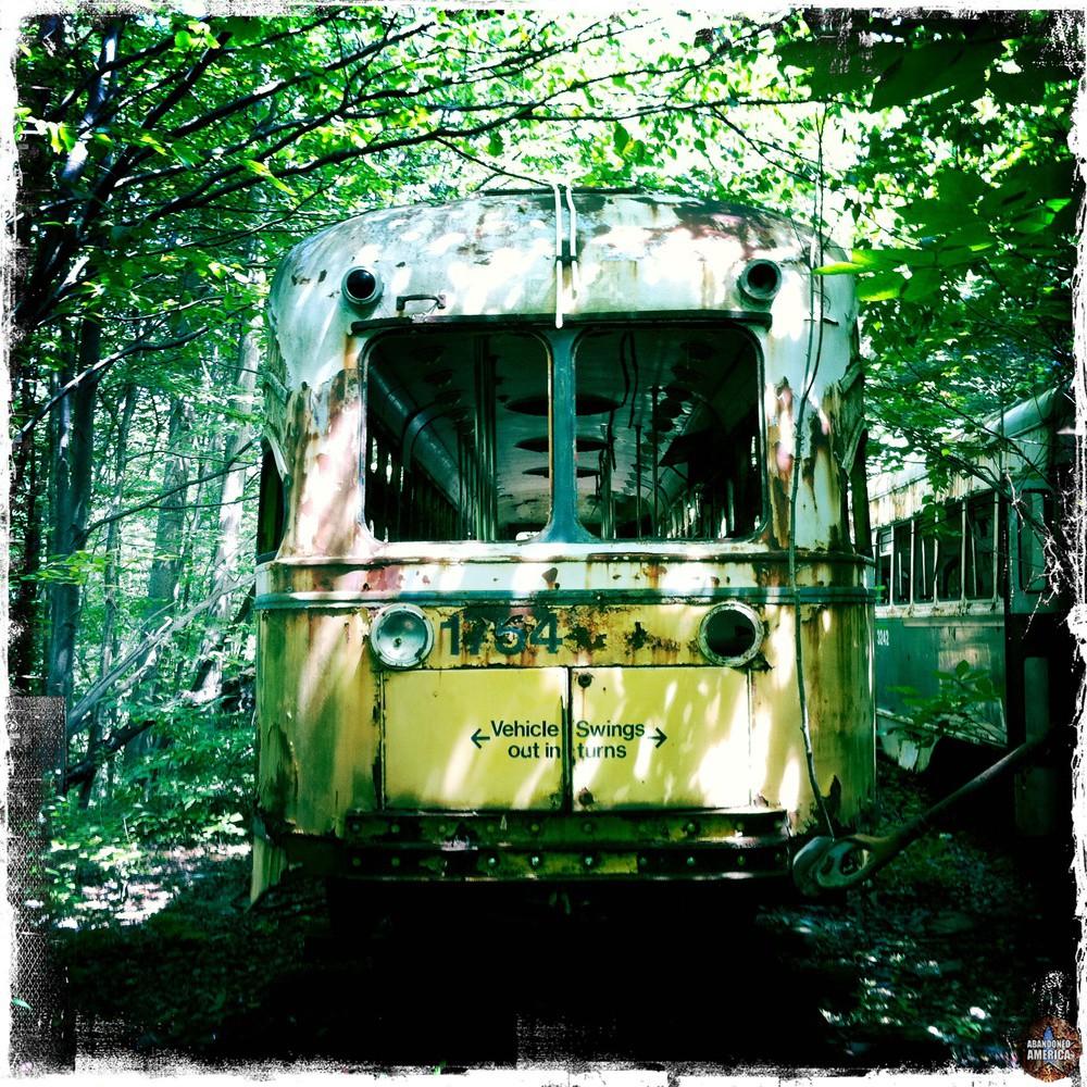 Trolley Graveyard | Ghostly - The Trolley Graveyard