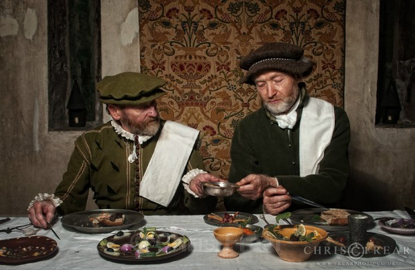 Border Reiver Meal 01 - Living History