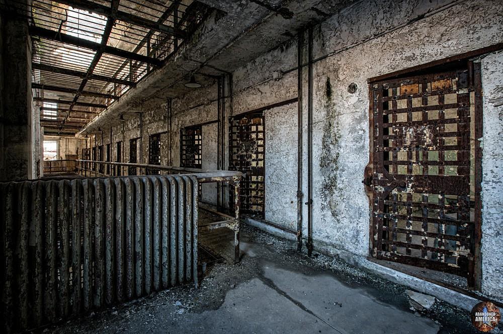 Eastern State Penitentiary (Philadelphia, PA)   Cell Doors - Eastern State Penitentiary