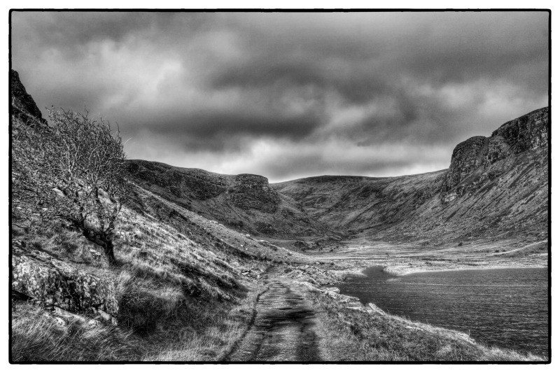 Road by the Lake - Kerry