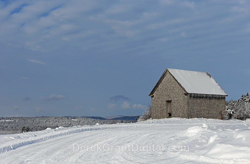 Barn on the Hill - Old Barns & Buildings