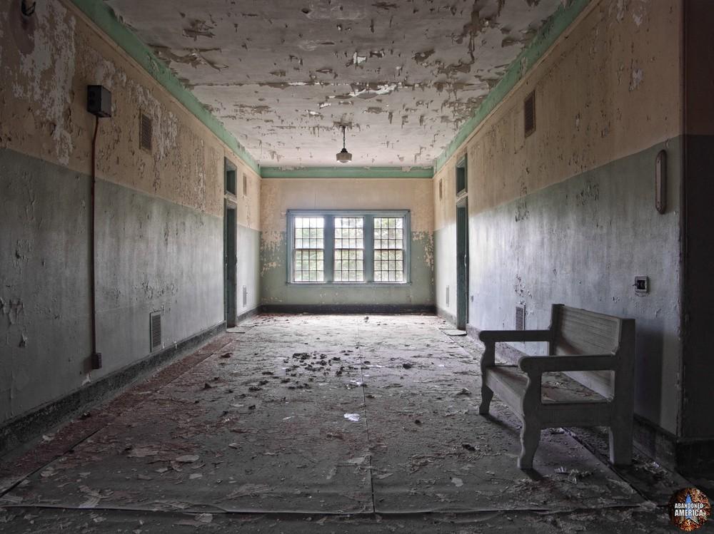 Hallway, Taunton State Hospital