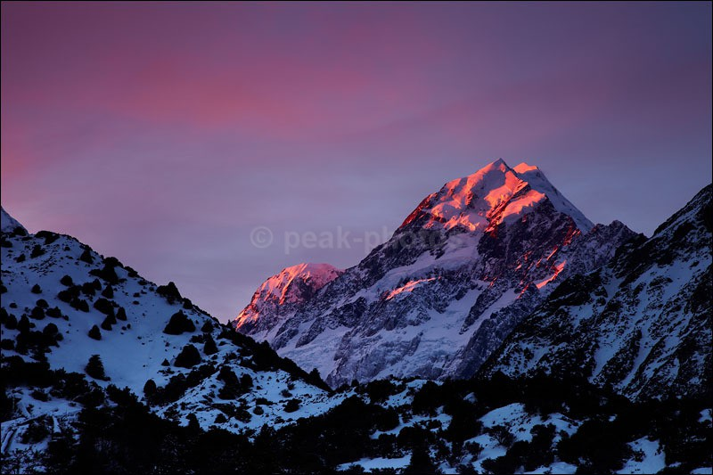 Mount Cook - Photographs of New Zealand