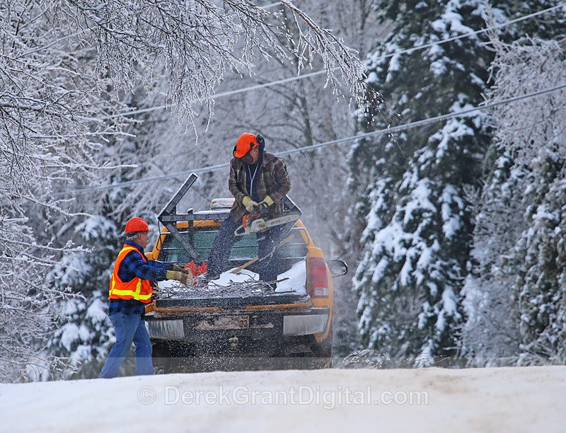 The Great Clean Up - The Great Ice Storm of 2013