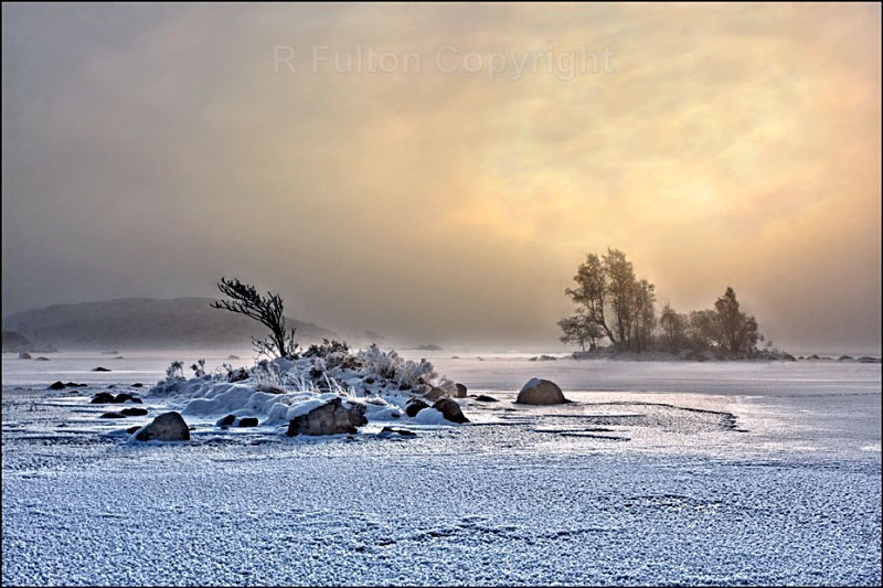 Winter on Rannoch - Landscapes