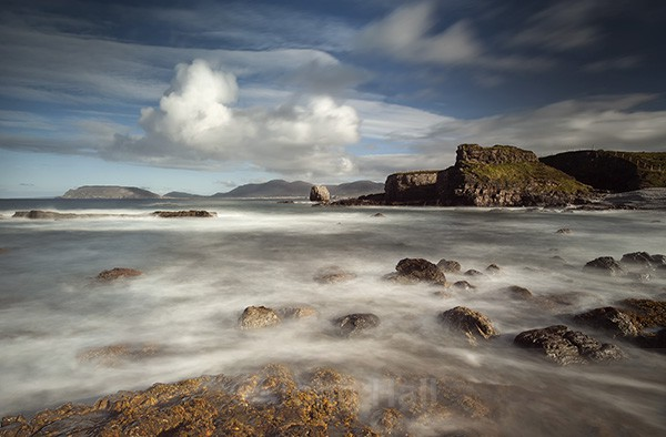 Coastal Scenery On The Fanad Peninsula, Co. Donegal, Ireland.