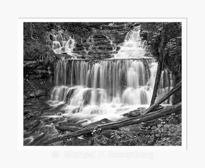 Walker Falls, Upper Peninsula MI (6026) - Upper Peninsula of Michigan