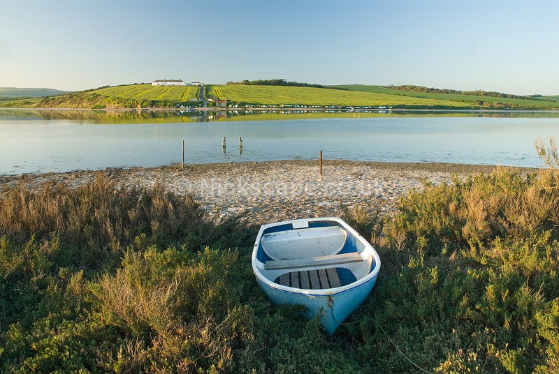 Chesil Beach | Fishing boat on the Fleet | Dorset Photography Gallery