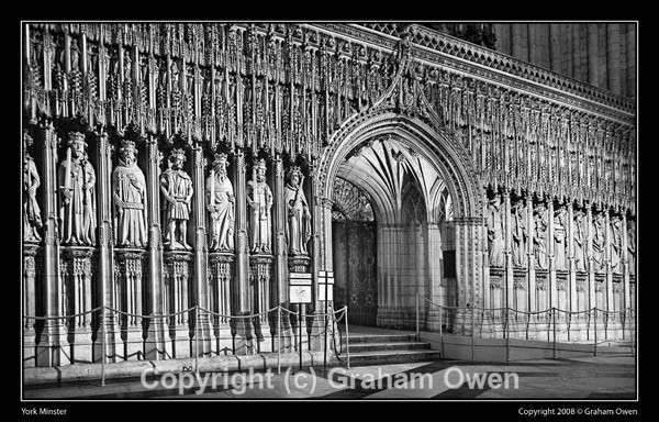 York Minster - The Screen - York