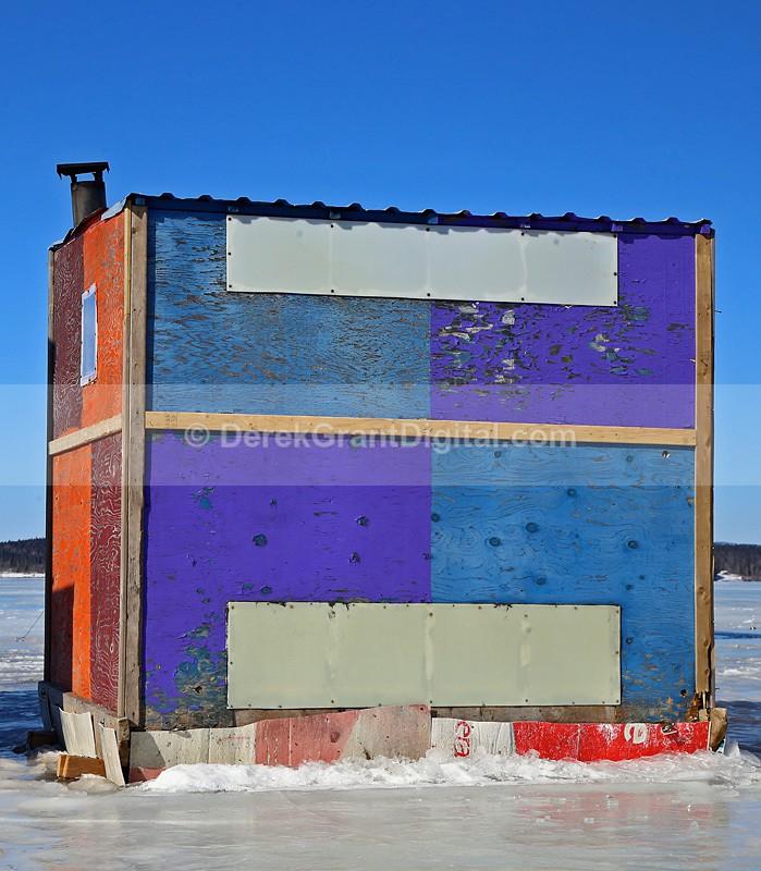 Ice Shack New Brunswick Canada - Ice Shacks
