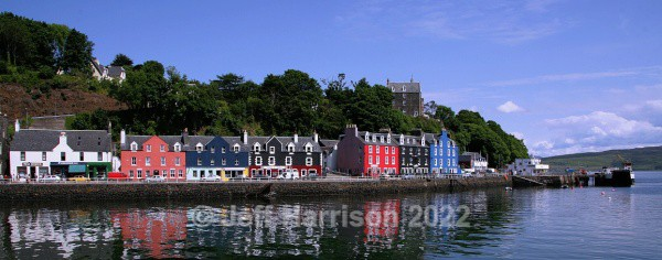 Tobermory waterfront, Isle of Mull (image Mull 001) - Urban Landscapes & Buildings