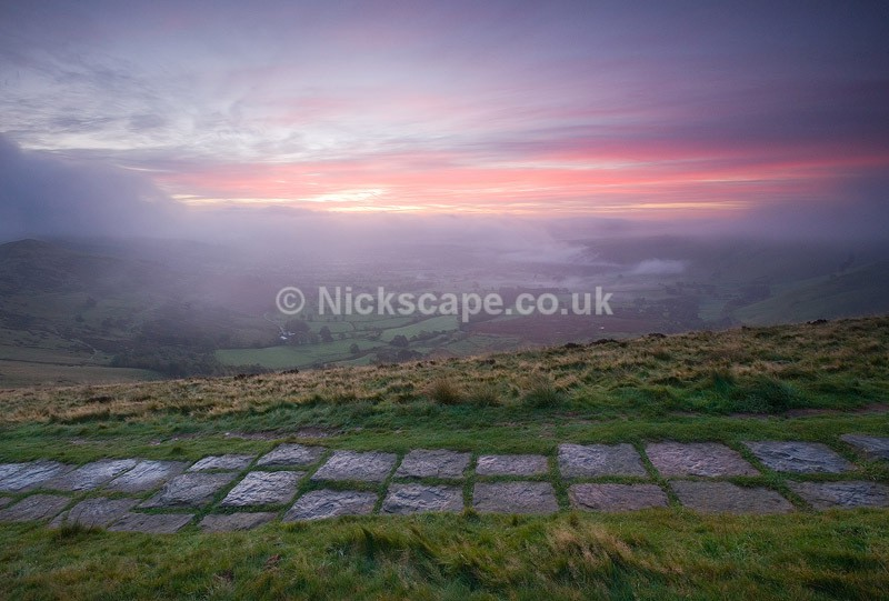 Hope Valley from Mam Tor - Derbyshire134 - Peak District Landscape Photography Gallery