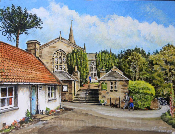 Upper Largo Church, Fife - Commissioned Work