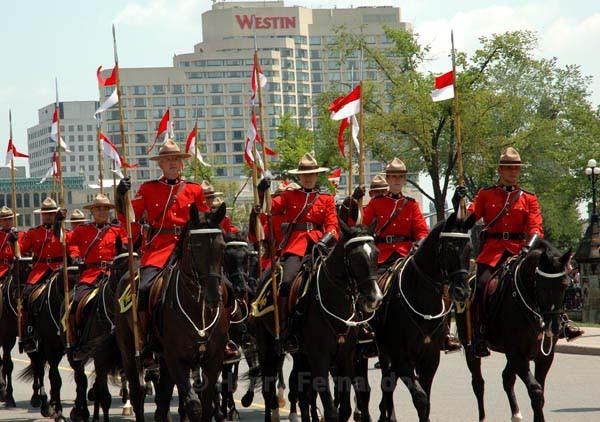 Canada day - RCMP - Summer