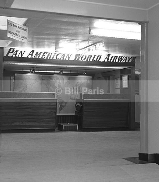 Pan American World Airway Prestwick Scotland - Archive.