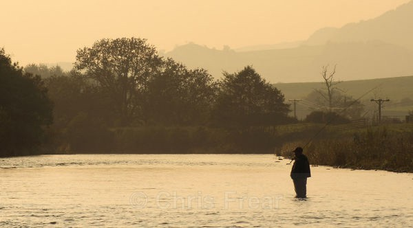 Contemplation - Flyfishing Photography