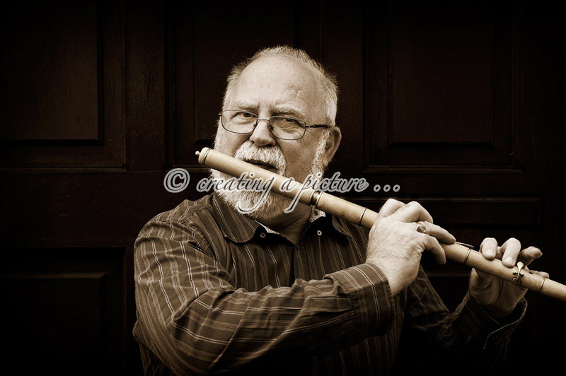 The Flute Player - Portraits