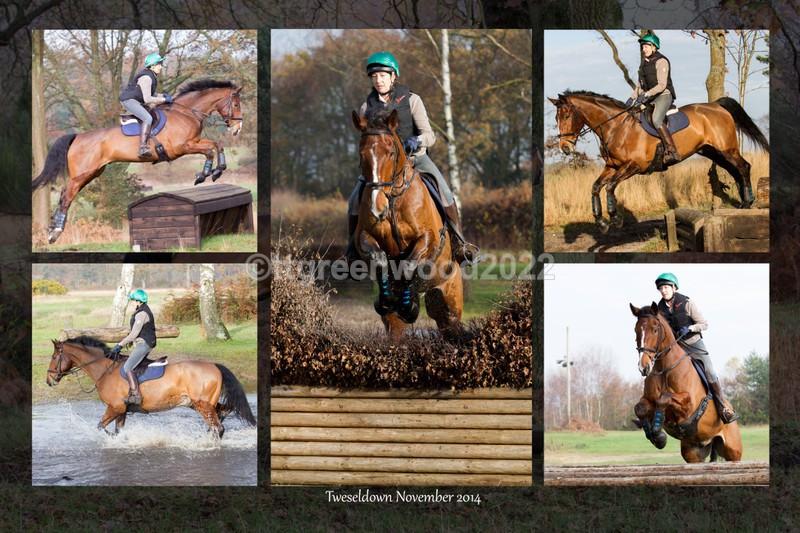 12x18 Claire Hubbard collage01 - Tweseldown Jump Practice