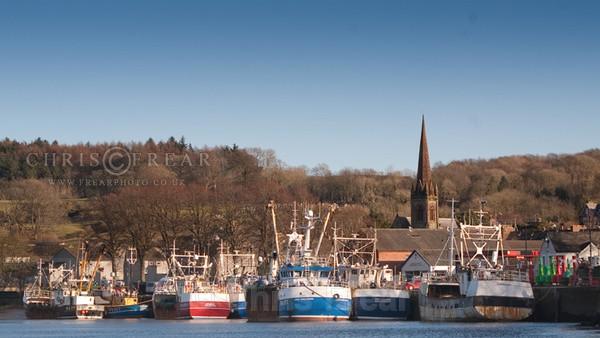 Kirkcudbright Harbour - Traditional Landscapes