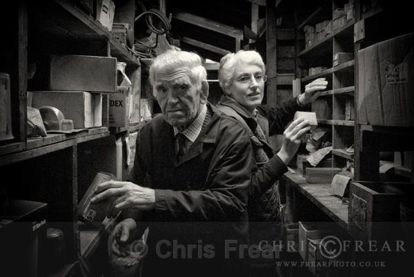 Hugh and Elizabeth - Mono - Black & White