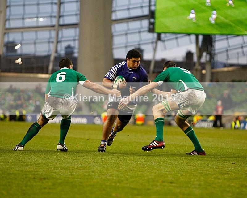 _I2H5984 - Ireland v Samoa - Guinness Series - Aviva Stadium - Dublin - 13/11/2010 Ireland 20 v 10 Samoa