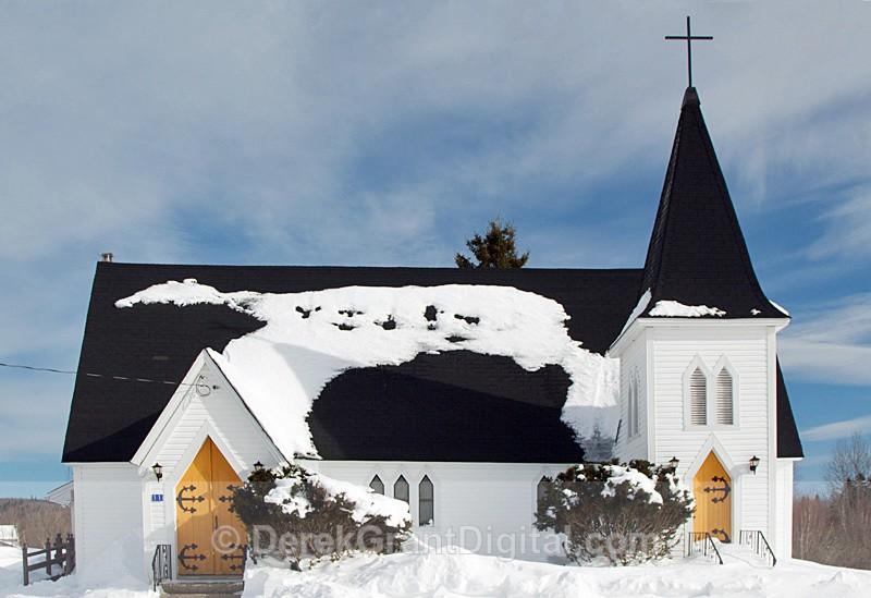 St. Simon & St. Judes Anglican Church Belleisle Creek - Churches of New Brunswick