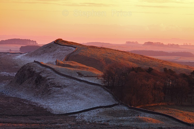 Hadrian's Wall Sunrise | Northumberland Photo Location