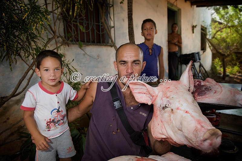 The Village Butcher - Cuba