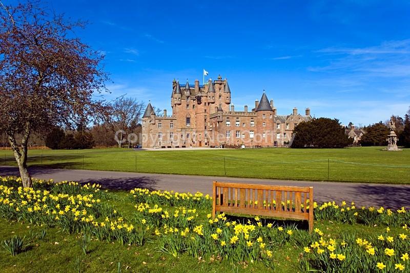 Glamis Castle, Angus - Landscape format