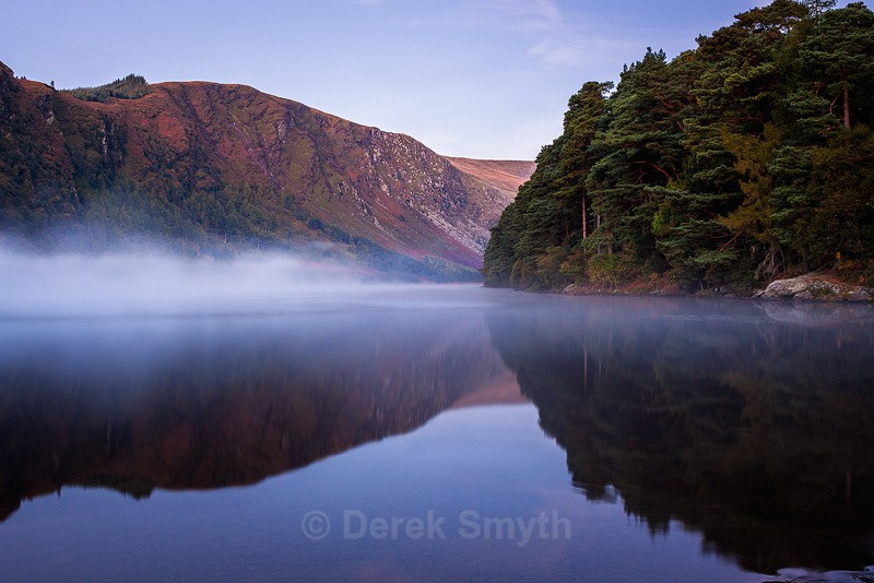 Mist on Glendalough